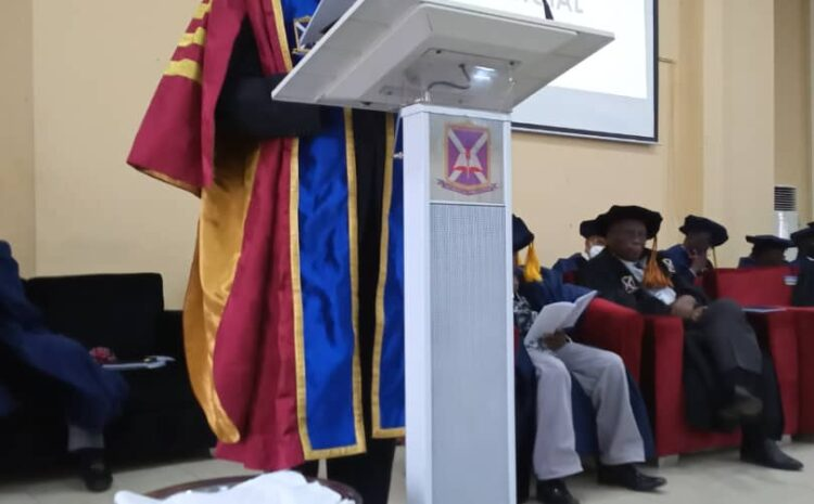 18TH INAUGURAL LECTURE OF AJAYI CROWTHER UNIVERSITY, OYO