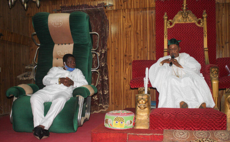 ALAAFIN COMMENDS AJAYI CROWTHER UNIVERSITY, PRAYS FOR VICE-CHANCELLOR