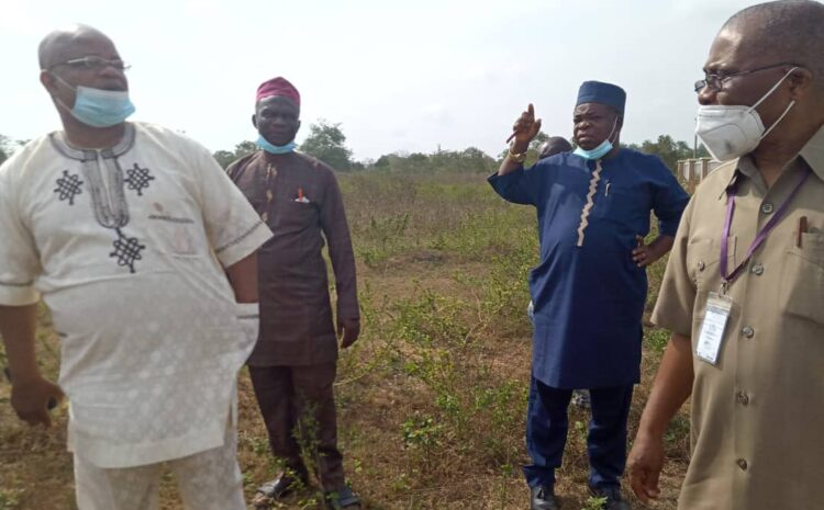 VICE-CHANCELLOR VISITS AWE CAMPUS, INSTRUCTS RESUMPTION OF WORK