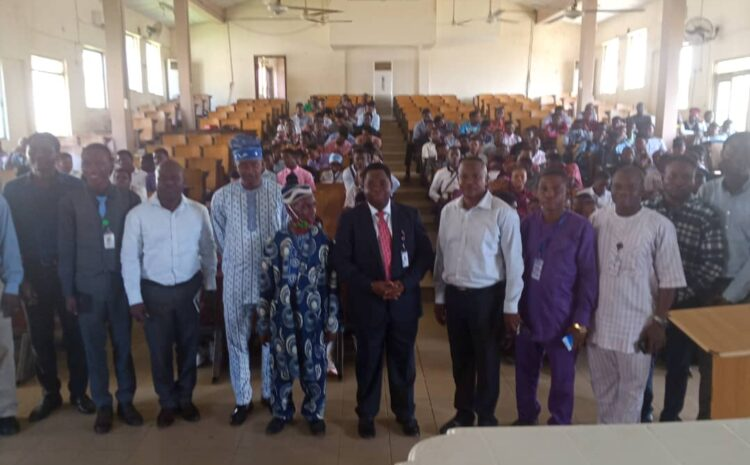 AJAYI CROWTHER UNIVERSITY VC PLEDGES TO PROVIDE TOP-CLASS EQUIPMENT FOR FACULTY OF ENGINEERING